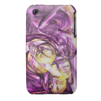 Violet Summer Abstr iPhone 3G/3GS Case-Mate Barely iPhone 3 Case-Mate Case