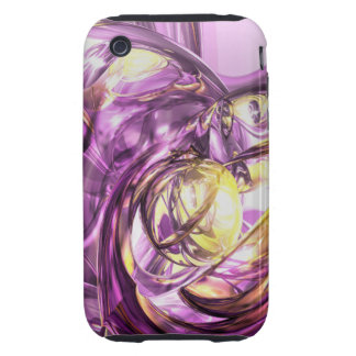 Violet Summer Abstrac iPhone 3G/3GS CaseMate Tough Tough iPhone 3 Cases