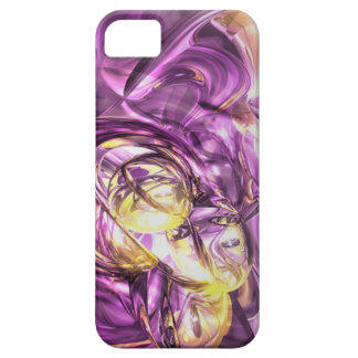 Violet Summer Abstract iPhone Barely There iPhone 5 Cases