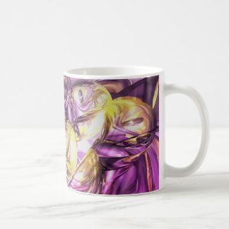 Violet Summer Abstract Mug