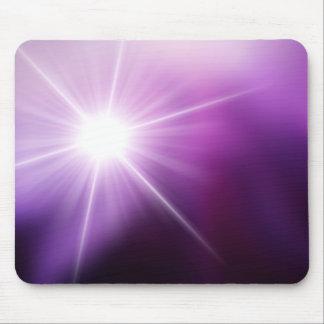 Violet sunlight mouse pad