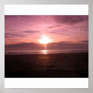 Violet Sunset1 Poster