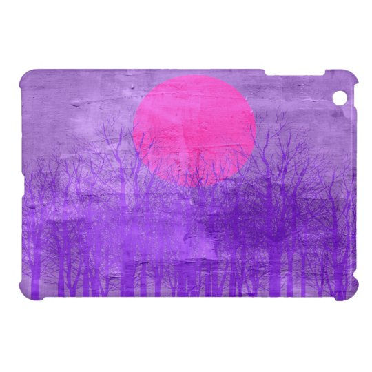 Violet Sunset | Abstract Painting Case For The iPad Mini