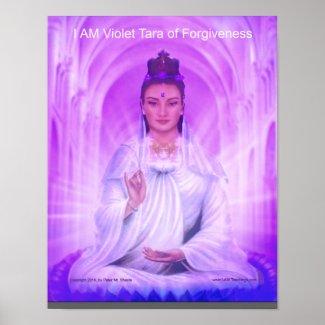 Violet Tara Poster