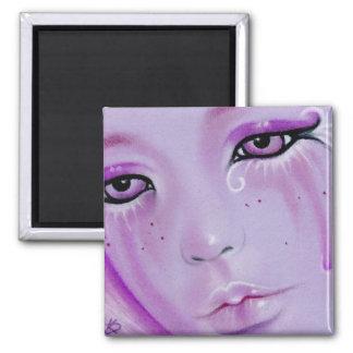Violet Tears Sad Girl Magnet
