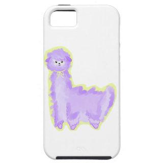 Violet the Alpaca iPhone 5 Cases