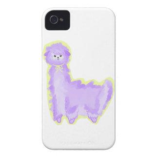 Violet the Alpaca Case-Mate iPhone 4 Cases