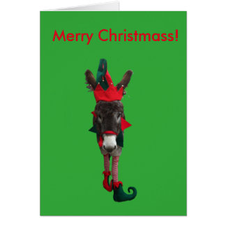 Violet the Elf Christmass Card