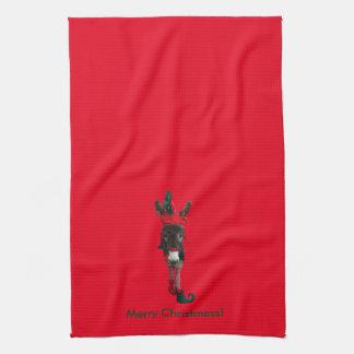 Violet the Elf Tea Towel
