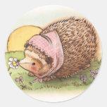 Violet the Hedgehog Classic Round Sticker