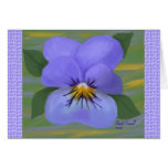 Violet Thinking Of You Card (Large Print)