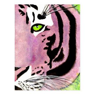 Violet Tiger Postcard
