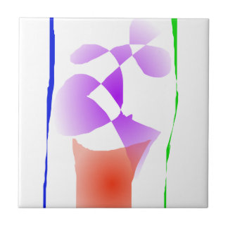 Violet Small Square Tile