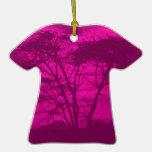 violet tree ornament