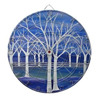 Violet Trees Dart Board