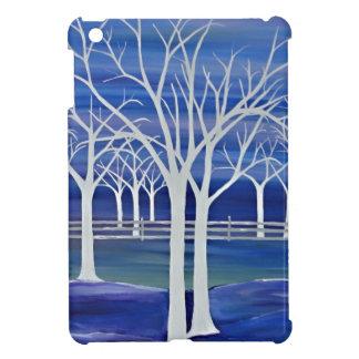 Violet Trees iPad Mini Cover