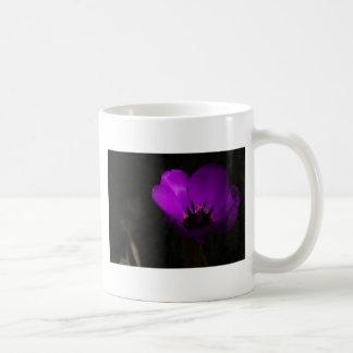 Violet Tulip Coffee Mug