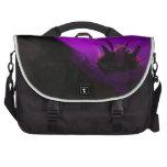 Violet Tulip Laptop Messenger Bag