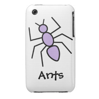 Violet Vector Ant iPhone 3 Cover
