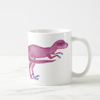 Violet Velociraptor Coffee Mug
