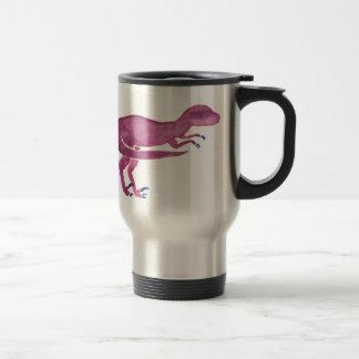 Violet Velociraptor Travel Mug