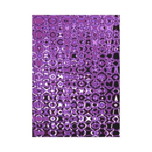 Violet Vortex Premium Wrapped Canvas - Purple wall decor