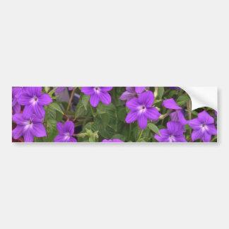 Violet Weeds Bumper Stickers