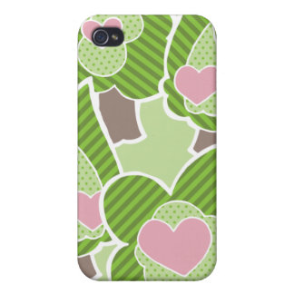 Violet Whimsical Forest iPhone 4 Case