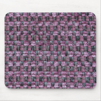 Violet, white and black strings mouse pad