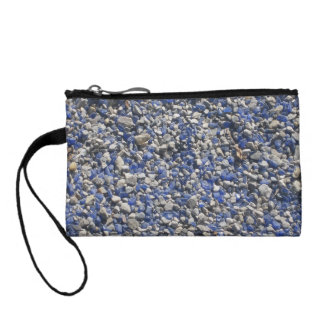 Violet white stone chaos coin wallet