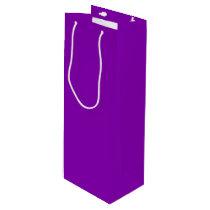 Violet Wine Gift Bag