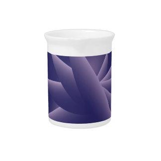 Violet Wings Drink Pitcher