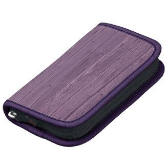 Violet Wood Texture Pattern. Artistic Design Organizer