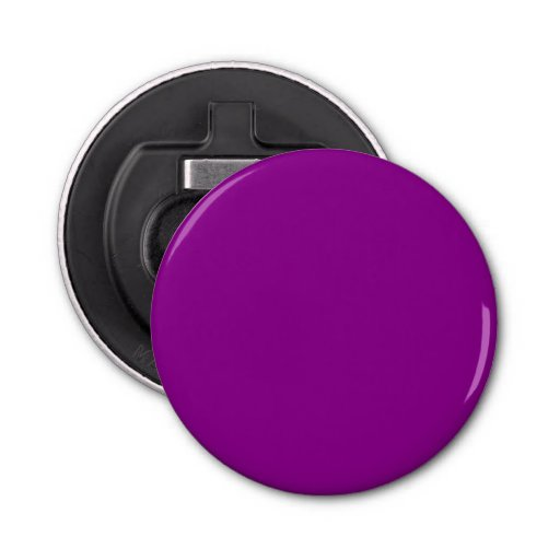 Violet Button Bottle Opener