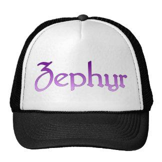 Violet Zephyr Hat
