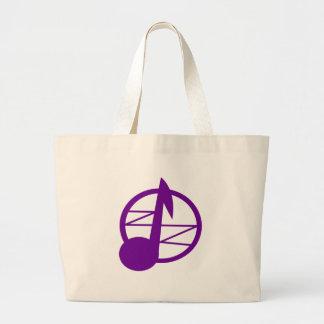 Violet Zephyr Logo Bag