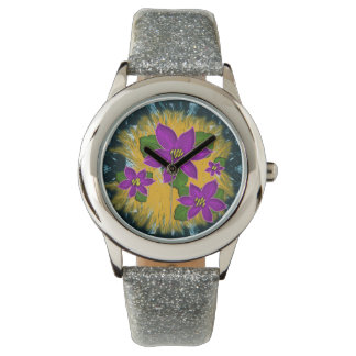 violeta africana relojes de mano