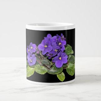 Violeta africana taza grande