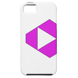 Violeta aguda iPhone 5 carcasa