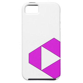 Violeta aguda iPhone 5 carcasas