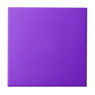 Violeta azul del color sólido azulejo cuadrado pequeño