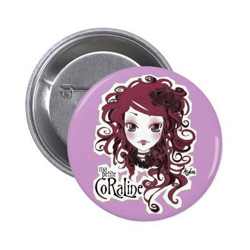 Violeta de Coraline Pin