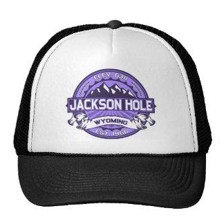 Violeta de Jackson Hole Gorras
