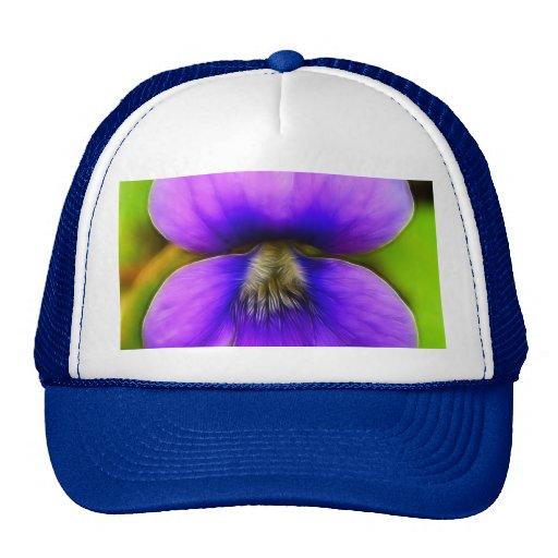 ¡Violeta de la primavera - poder púrpura! Gorro