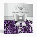 violeta del leopardo 311-Bow-licious