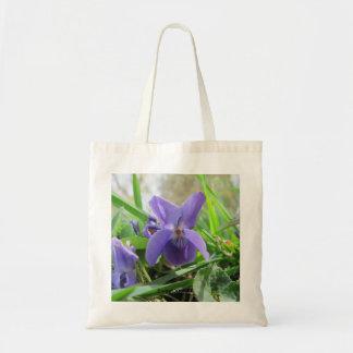 Violeta dulce bolsa tela barata