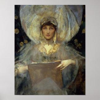 Violeta, duquesa de Rutland Poster