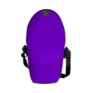 ~ VIOLETA ELÉCTRICO (de un color purpurino sólido) Bolsas De Mensajeria
