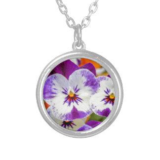 violeta en el jardín pendientes personalizados