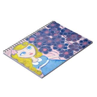 Violeta en el jardín cuadernos